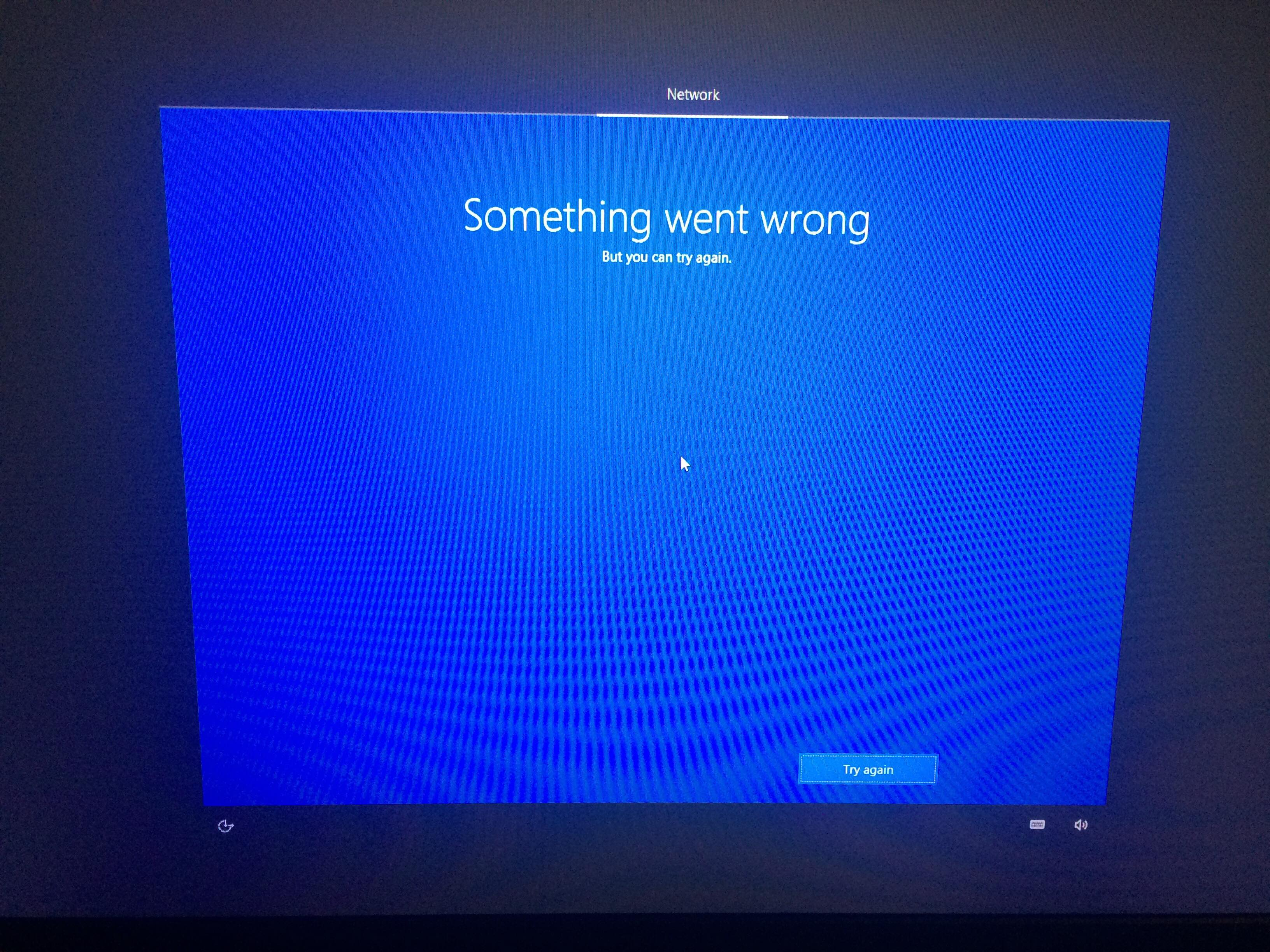 Windows 10 Clean Install Something Went Wrong ••▷ SFB