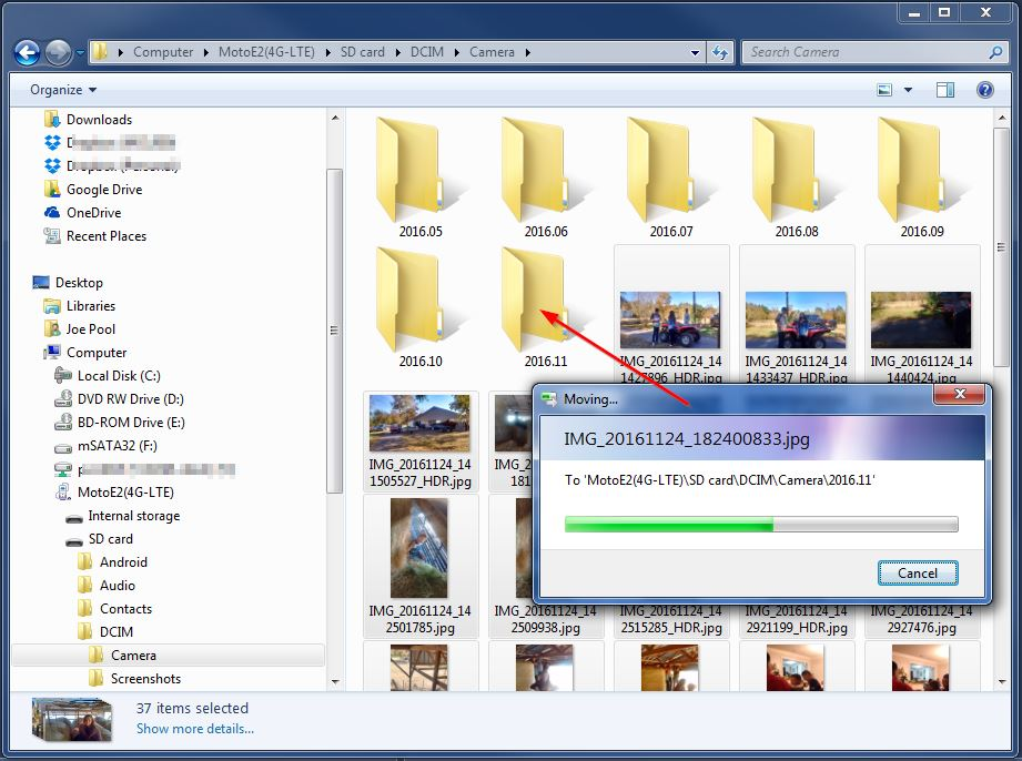 Win10 Cannot Move Files on my Device | Windows 10 Forums