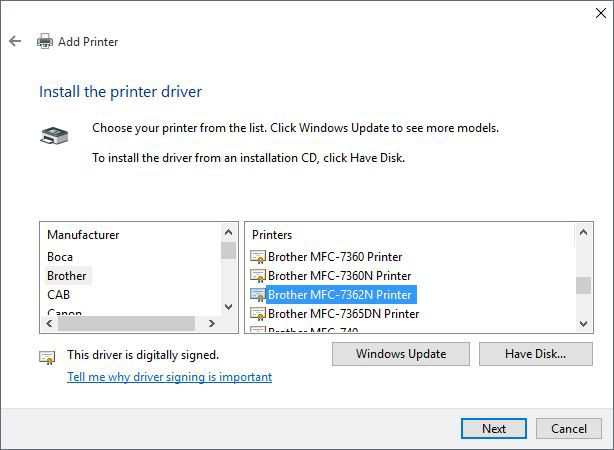 printer problems | Windows 10 Forums