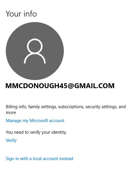 Change user/account name | Windows 10 Forums