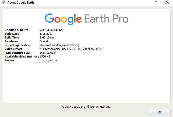 google earth pro latest version for windows 10