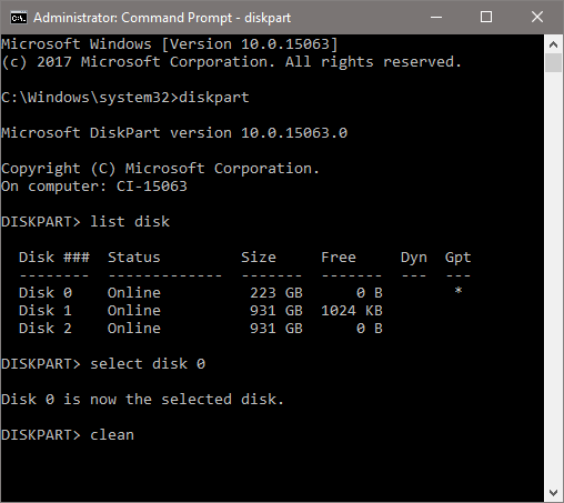 Windows 10 laptop not wiping  | Windows 10 Forums