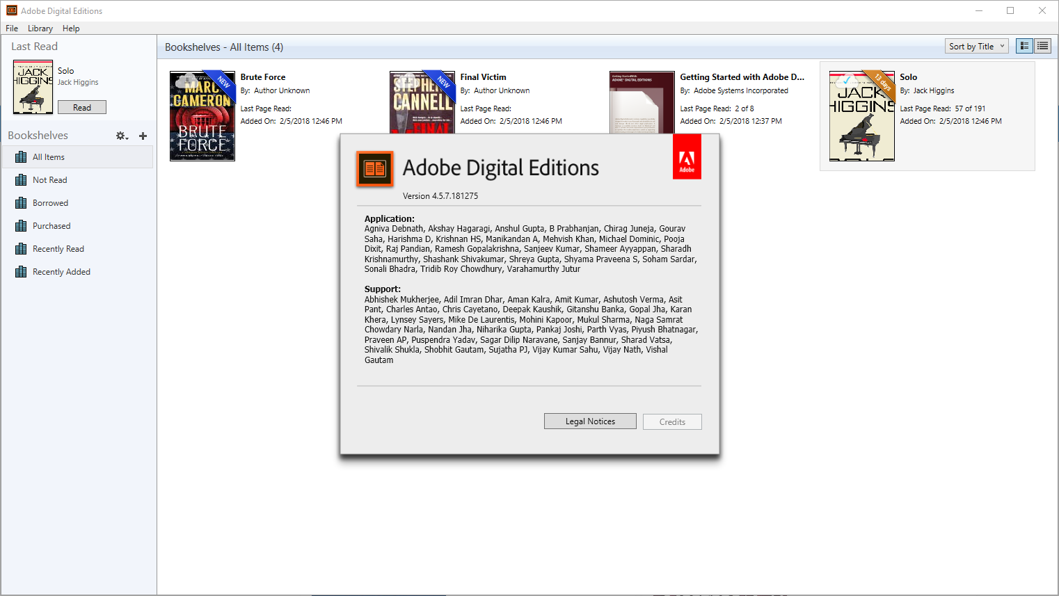 adobe digital editions 4.5 problems