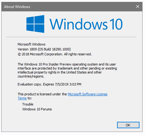 OS Build Numbering | Windows 10 Forums