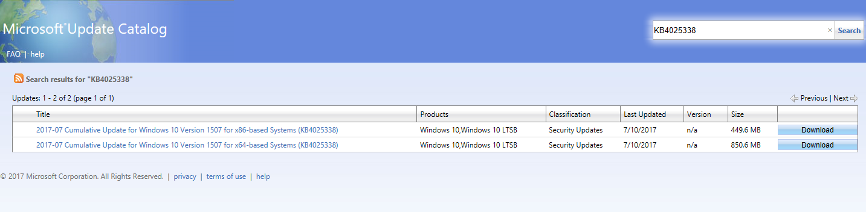 Cumulative Update for initial Windows 10 build 10240 | Windows 10 Forums