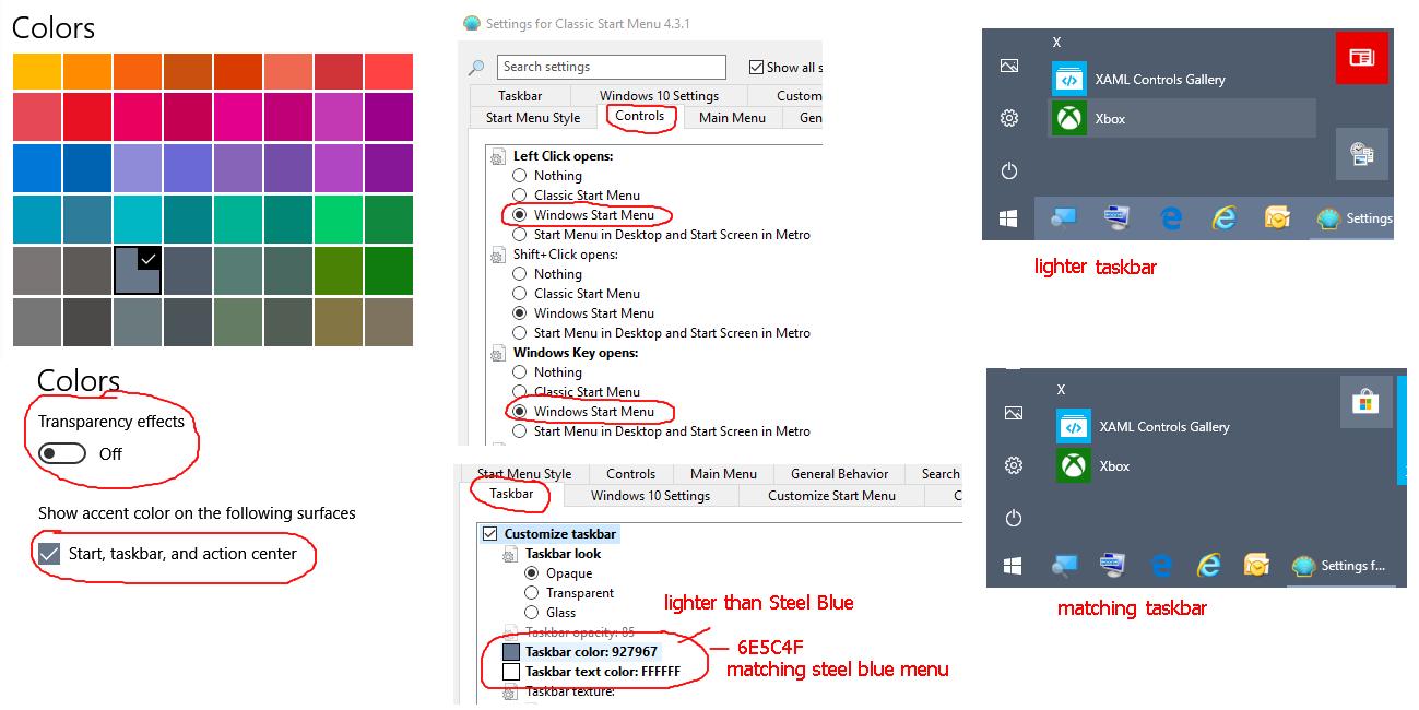Classic Shell taskbar settings .png