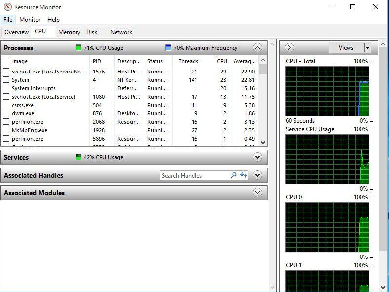 High CPU Windows 10 fresh install | Windows 10 Forums