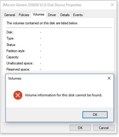 Windows Storage Spaces partition missing   Windows 10 Forums