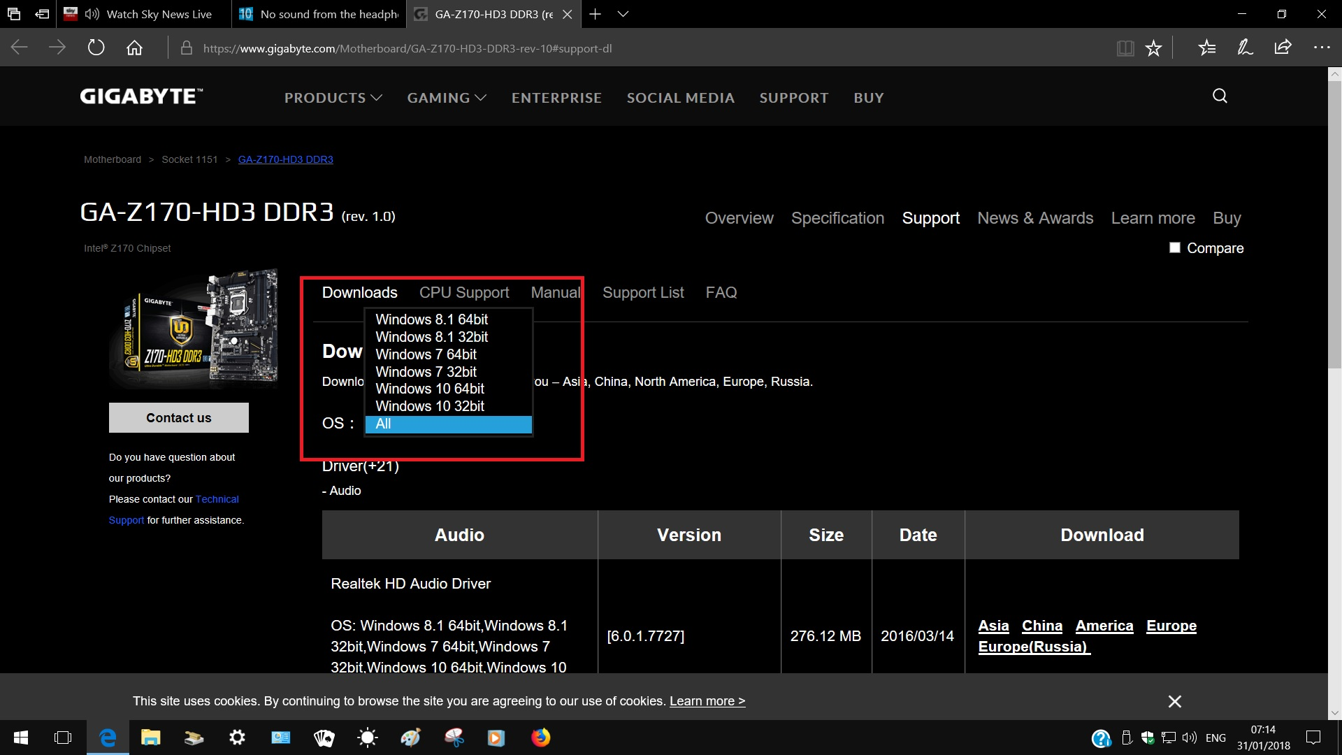 No sound from the headphones or mic | Windows 10 Forums