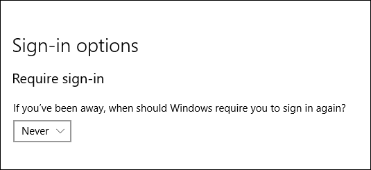 How do I stop pc from asking my log in credentials