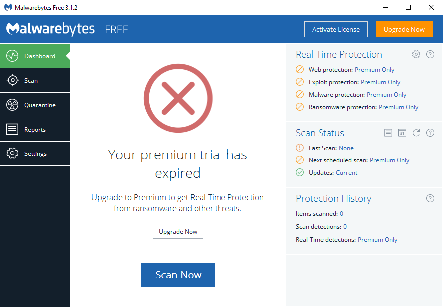 malwarebites free