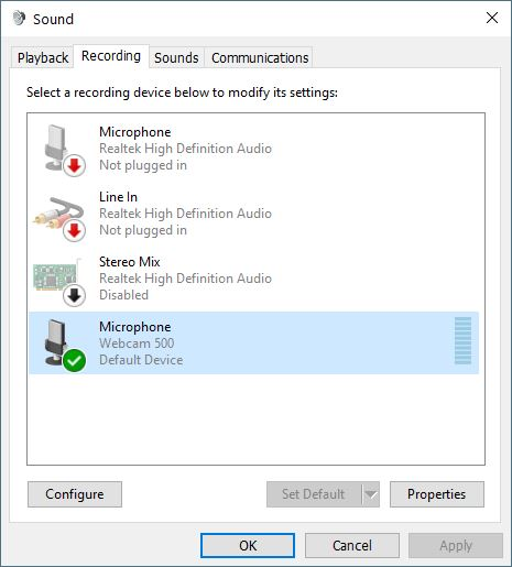 realtek high definition audio not plugged in