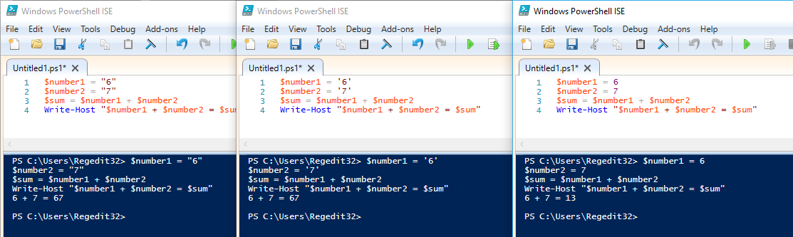 Windows PowerShell Tutorial 3 - Variables | Windows 10 Forums