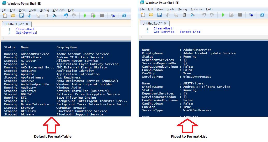 Windows PowerShell Tutorial 7 - Formatting Output | Windows 10 Forums