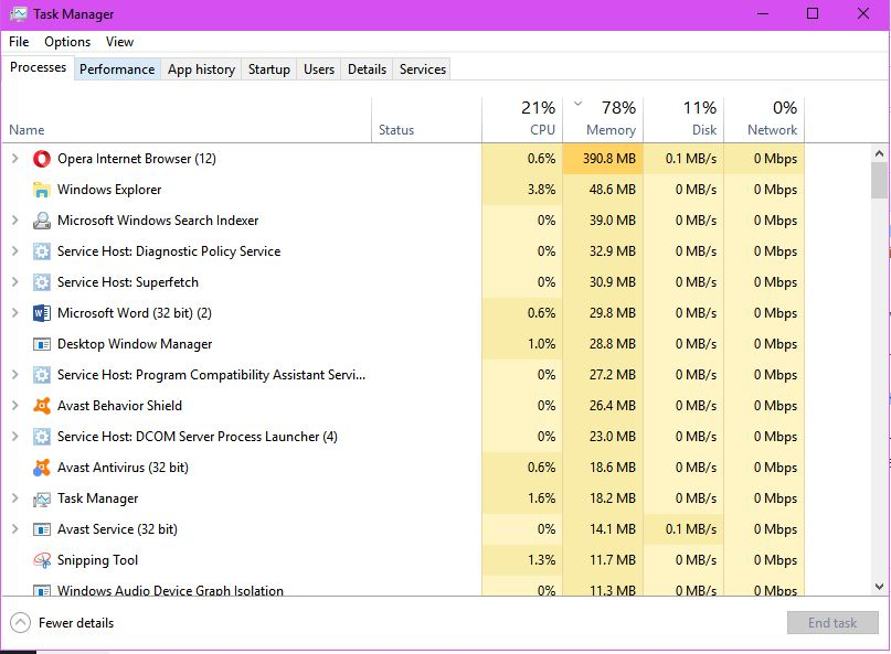 Screenprint of Task Manager during Index Rebuild problem1.JPG