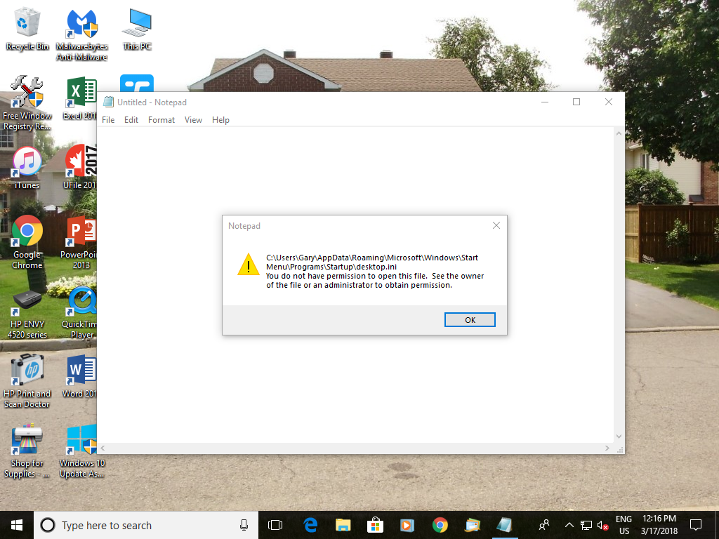 How to Delete this on Startup | Windows 10 Forums