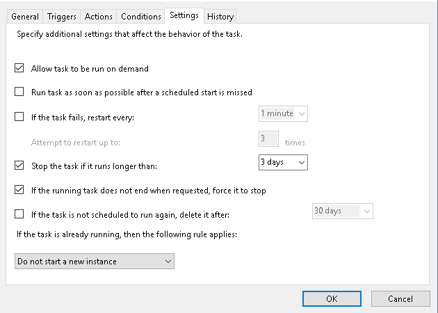 Task Scheduler not working, it not taking the file from the
