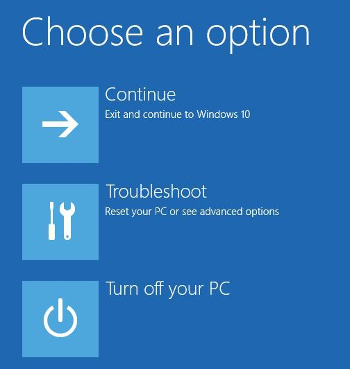 how to fix win10 if it cannot boot after updating