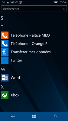 Lumia WP 10 - App does not exist but the icon is in the list of apps
