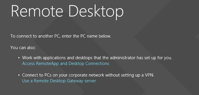 Remote Connection to Desktop | Windows 10 Forums
