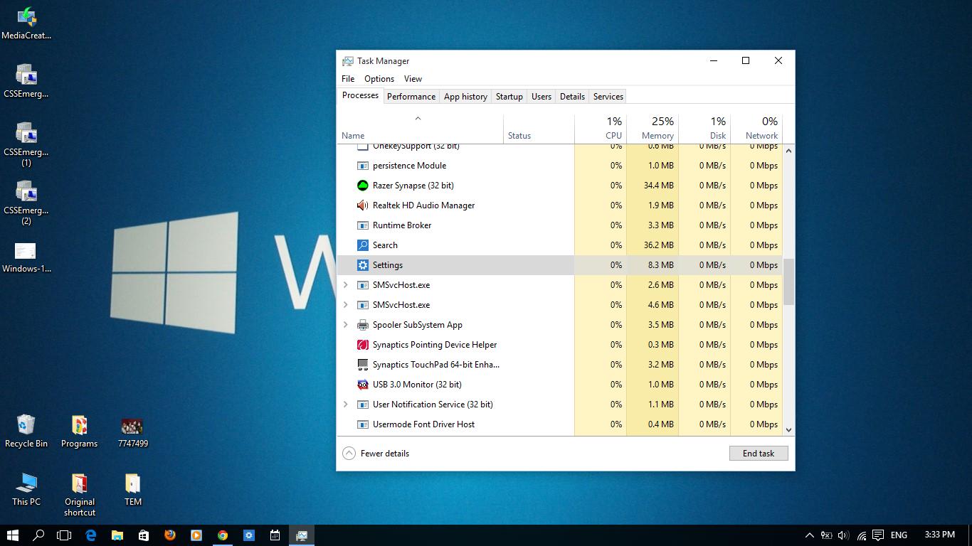 Settings/Apps in window 10 won't open up | Windows 10 Forums