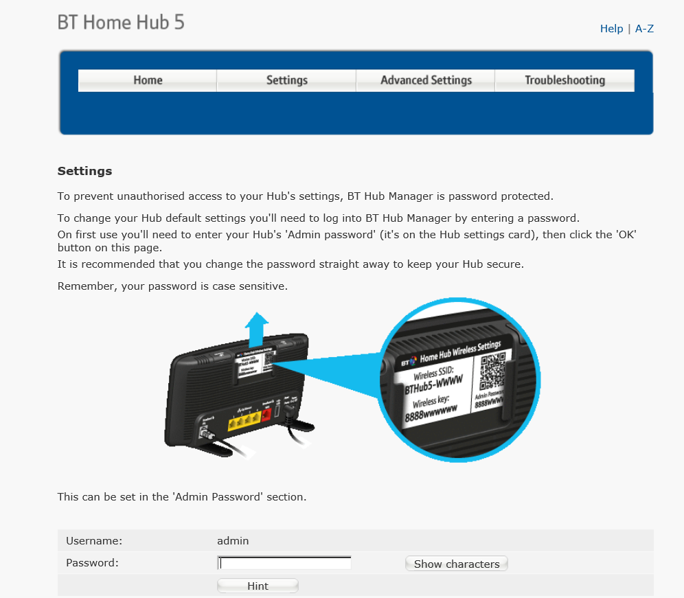 How can I stop the BT Home Hub picture annoying me? | Windows 10 Forums