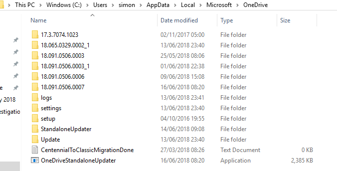 onedrive.exe command line parameters